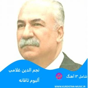 نجم الدین غلامی وره قوربان,آهنگ کردی نجم الدین غلامی