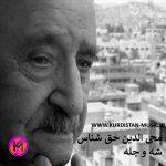 دکلمه کردی شب یلدا محی الدین حق شناس/ دکلمه کردی